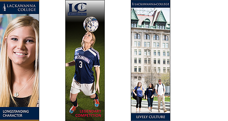 Lackawanna College Inquiry Banners